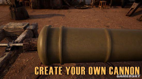 造大炮摹拟器上线Steam商铺 快来制作属于你本身的加农炮吧