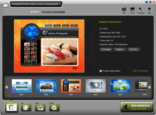 ThunderSoft Photo Gallery Creator(影集制作亚洲制服丝袜自拍中文字幕)中文字字幕在线中文无码
