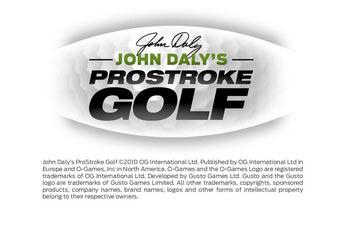 约翰?达利的职业高尔夫(John Dalys ProStroke Golf)