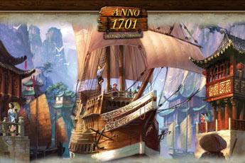 纪元1701之沉睡之龙二合一中文版(Anno 1701 The Sunken Dragon)