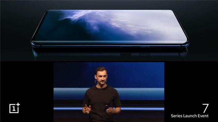 一加7 Pro正式发布:90Hz真全面屏,90Hz刷新率,669美元起