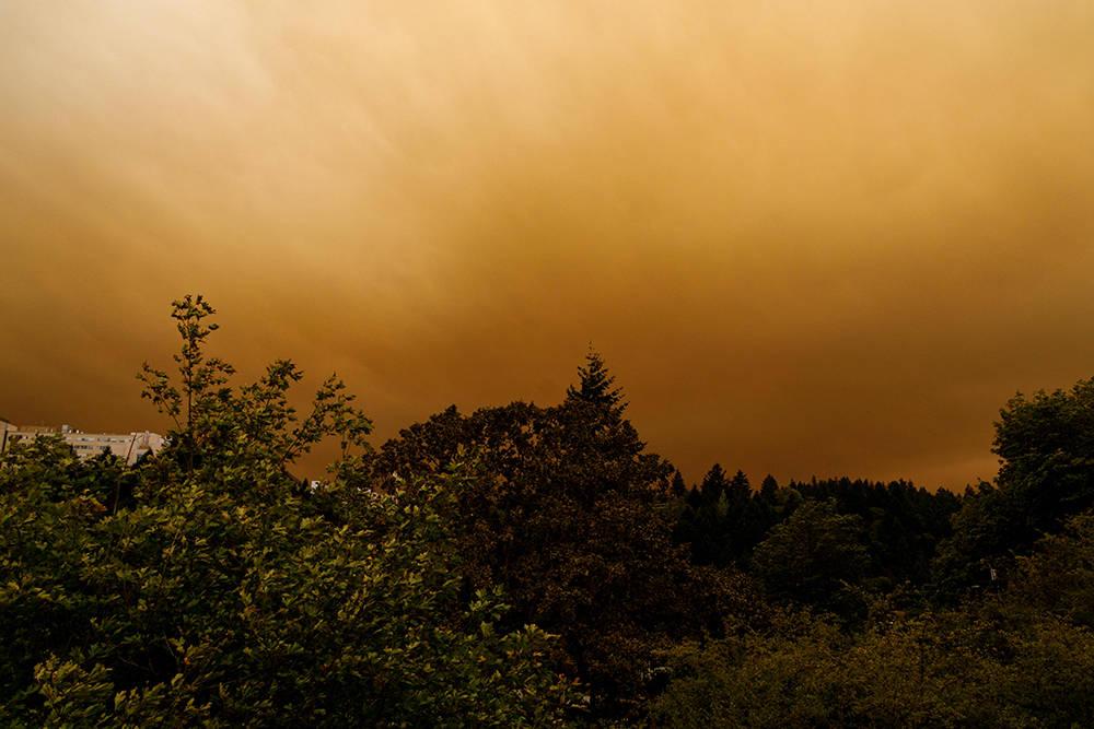 美国俄勒冈州城镇被染红,美国火灾最新消息情况如何?