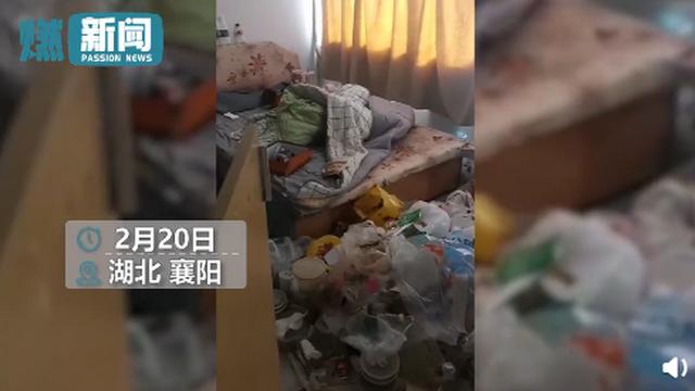 女子欠2个月房租失联留满屋垃圾画面曝光 屋内堆满垃圾不堪入目