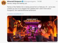 《我的世界地下城》新DLC公布 免费更新将同步推出