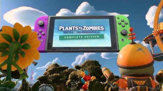 《植物大战僵尸:和睦小镇保卫战》完全版将于3月19日登陆NS