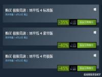 《极限竞速地平线4》Steam首次促销 标准版122元豪华版153元