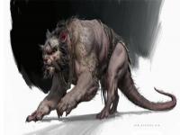 《黑神话悟空》新怪物原画公布 双头鼠妖、狰狞鼠怪
