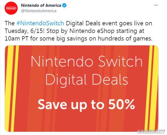 老任E3大促将于6月15日开启 全场游戏至多半价