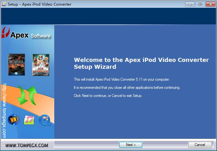 Apex iPod Video Converter下载