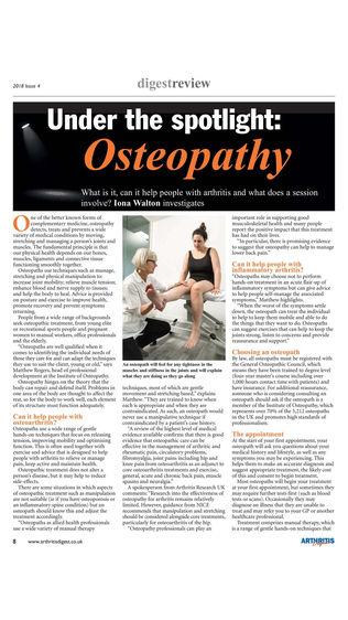 Arthritis Digest Magazine软件截图1