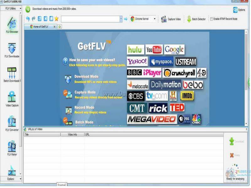 GetFLV(视频管理)下载