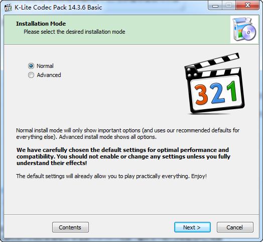 K-Lite Codec Pack Basic下载