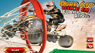 ATV Bike Dunk Race软件截图0