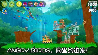 Angry Birds Rio软件截图0