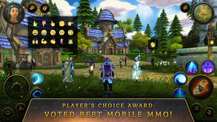 3D MMO Villagers & Heroes软件截图2