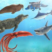 海洋动物模拟战斗机