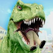 恐龙 模拟器 市 猎人
