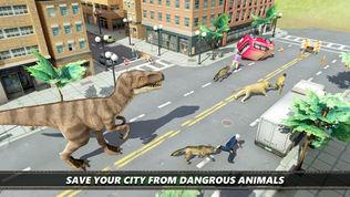 恐龙 市 模拟器 游戏软件截图1