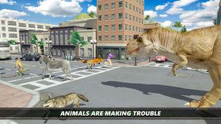 恐龙 市 模拟器 游戏软件截图0