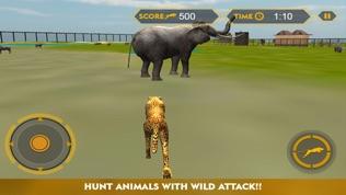 野生动物猎豹攻击模拟器3D软件截图0