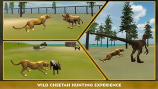 野生动物猎豹攻击模拟器3D软件截图1