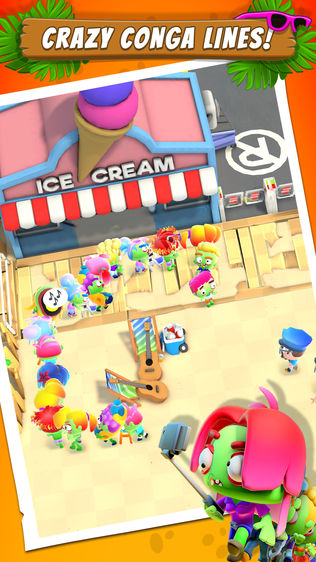 Zombie Beach Party软件截图2