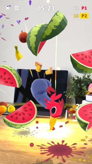 Flippy Friends Fruit Crush AR软件截图2
