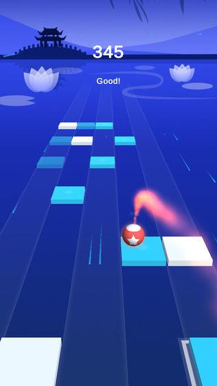 跳舞钢琴小球:单机动作音乐游戏软件截图1