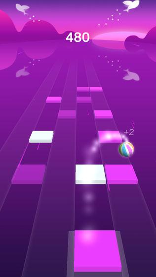 跳舞钢琴小球:单机动作音乐游戏软件截图0