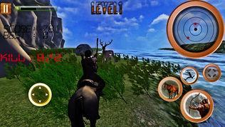 射箭在丛林动物3D射击游戏