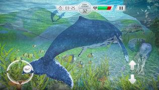 蓝鲸生存挑战模拟器游戏: 愤怒的鲨鱼攻击进化软件截图0