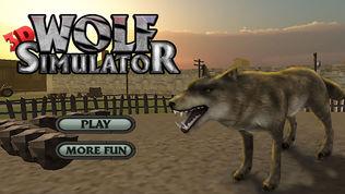 3D 狼 模拟器 北极 狼队软件截图0
