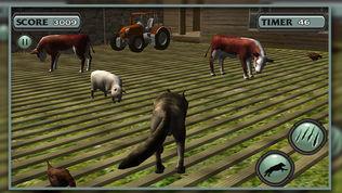 3D 狼 模拟器 北极 狼队软件截图1