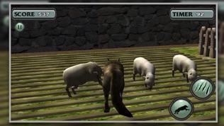 3D 狼 模拟器 北极 狼队软件截图2