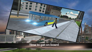 现代化的城市公交车司机3D:免费模拟游戏软件截图1