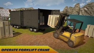 至尊货运卡车司机及叉车吊车司机游戏软件截图0