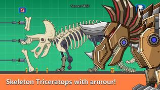 三角龙化石机器人