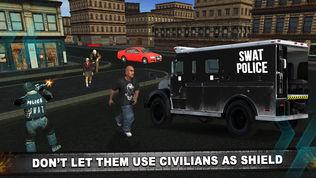 警察反恐怖主义特警射击在犯罪城市软件截图2