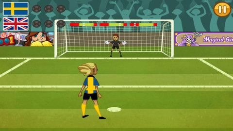 女足点球游戏软件截图2