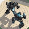 机器人城市战斗游戏