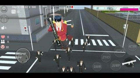樱花校园模拟器游戏软件截图1