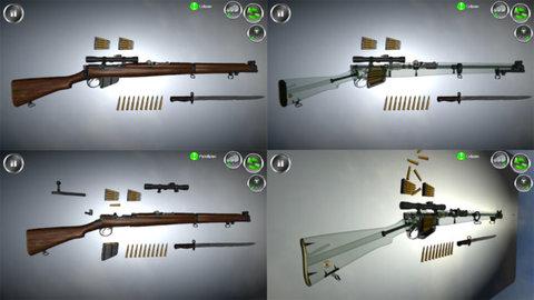 武器拆卸模拟器软件截图1
