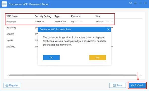 Cocosenor WiFi Password Tuner(WiFi密码恢复软件)下载