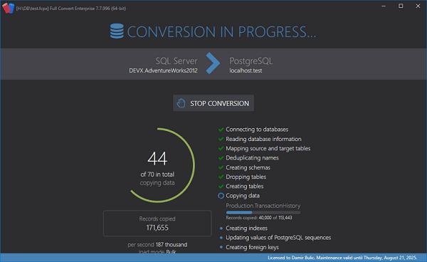 Full Convert Enterprise(数据库转换软件)下载