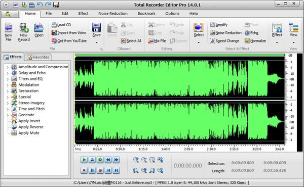 Total Recorder Editor Pro(专业录音软件)下载