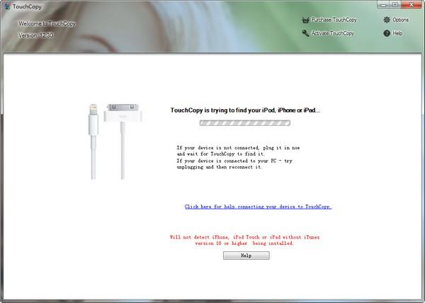 TouchCopy(iPhone/iPad文件管理软件)下载