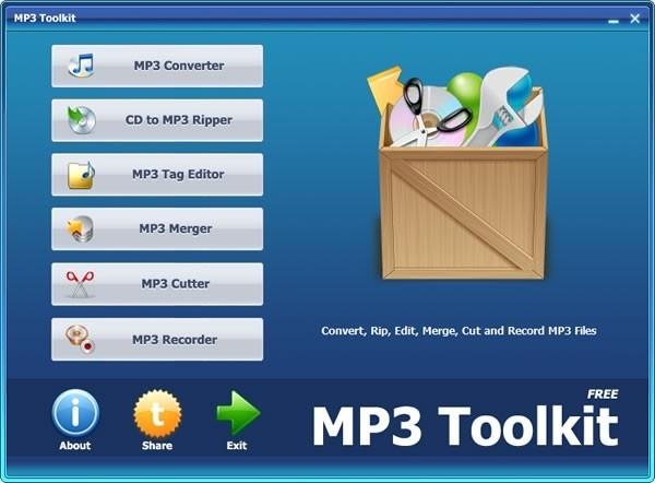 音频转换器(MP3 Toolkit)下载
