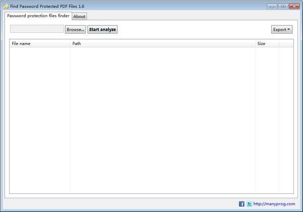 Find Password Protected PDF Files(加密PDF文件查找)下载
