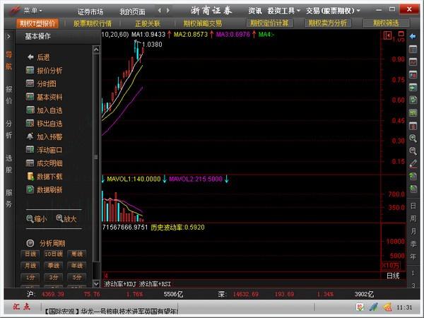 浙商证券股票期权投资交易系统下载