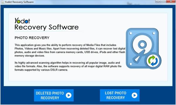 Yodot Recovery Software(数据恢复软件)下载